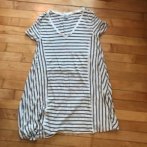 Zara Striped Shift Dress M